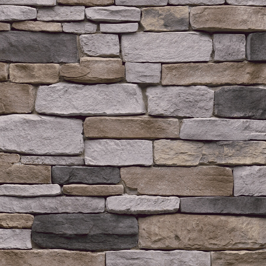 Shop stonecraft 9 sq ft pennsylvania ledgestone flats at for Stonecraft fireplaces