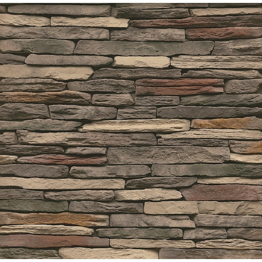 Ledger Stone Veneer : Shop stonecraft sq ft multicolor ledge stone veneer at