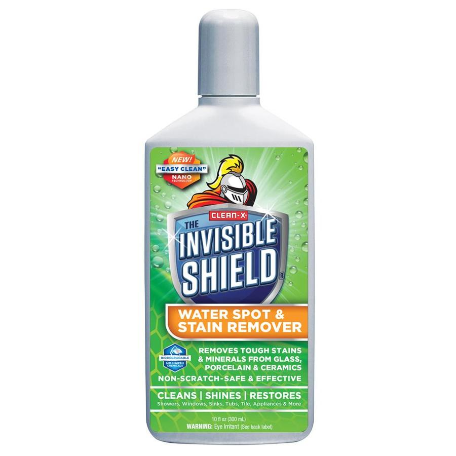 Shop Clean-X Invisible Shield Water Spot and Stain Remover 10-oz ...