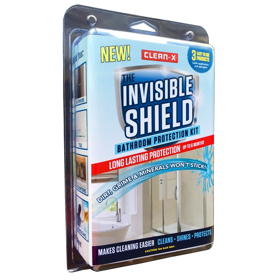 Shop Clean-X Invisible Shield Shower and Bathtub Cleaner at Lowes.com