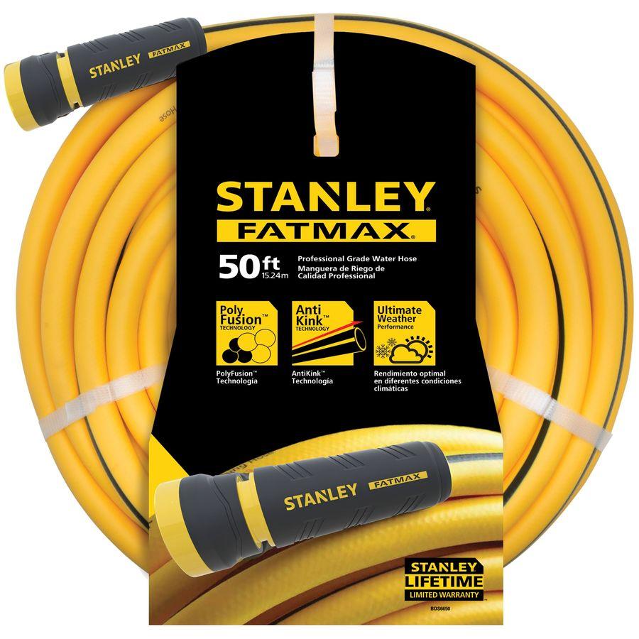 Stanley FatMax 5/8-in x 50-ft Contractor Kink Free Garden Hose