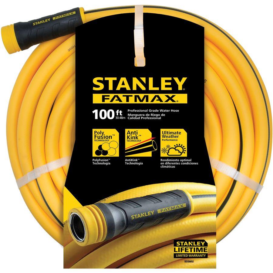 Stanley FatMax 5/8-in x 100-ft Contractor Kink Free Garden Hose