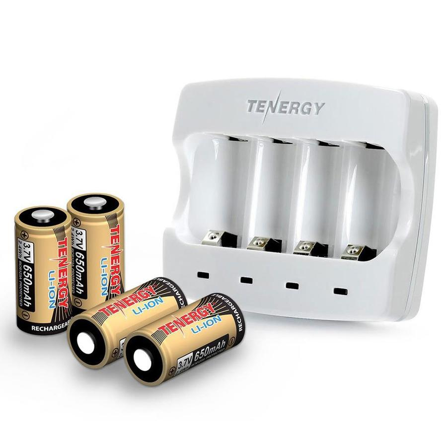 Tenergy Battery combo charger 3.6-Volt Lithium Ion (Li-ion) Portable Battery Pack