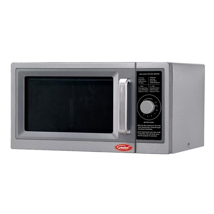 General 1-cu ft 1,000-Watt Commercial Countertop Microwave (Stainless Steel)