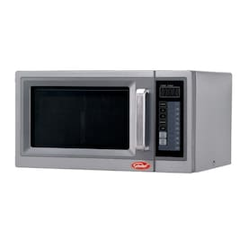 General 1 Cu Ft 1000 Watt Countertop Microwave Stainless Steel In The Countertop Microwaves Department At Lowes Com