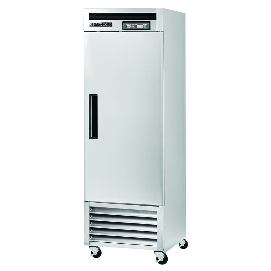 Maxx Cold 23-cu ft Frost-Free Freestanding Commercial Upright Freezer (Stainless Steel)