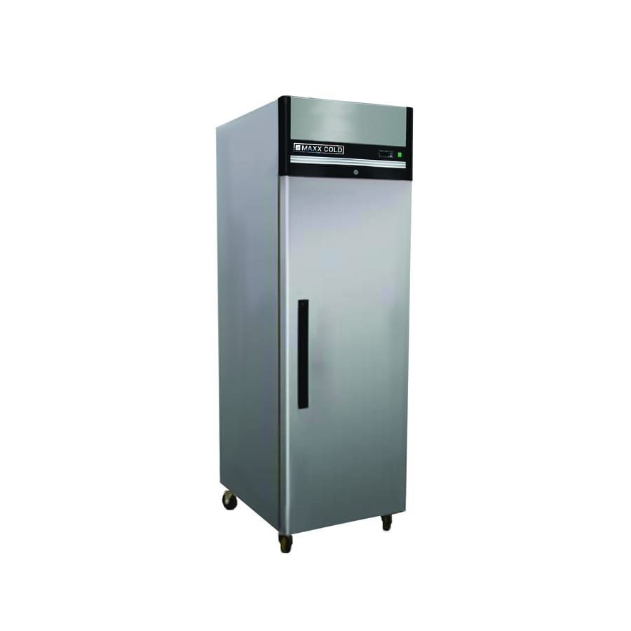Maxx Cold 23-cu ft Reach-In Commercial Refrigerator (Stainless Steel)