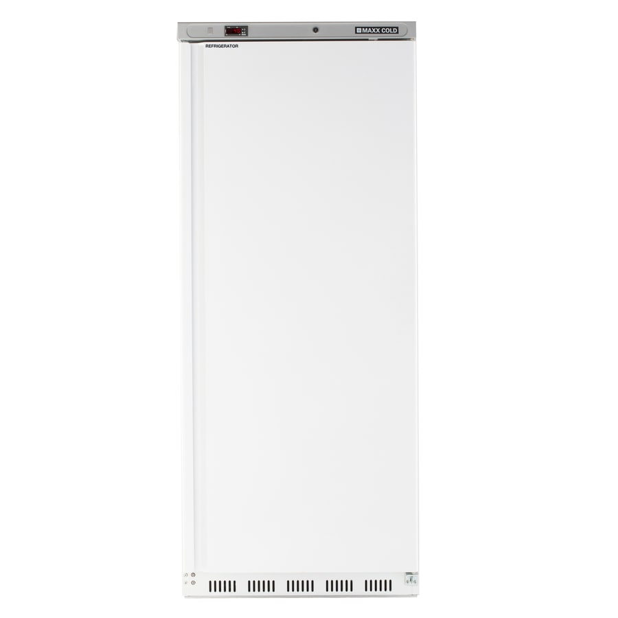 Maxx Cold 23-cu ft 1-Door Reach-In Commercial Refrigerator (White)