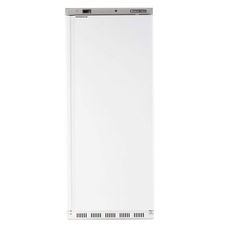 Maxx Cold 23-cu ft 1-Door Freezerless Freezerless Commercial Refrigerator (White)