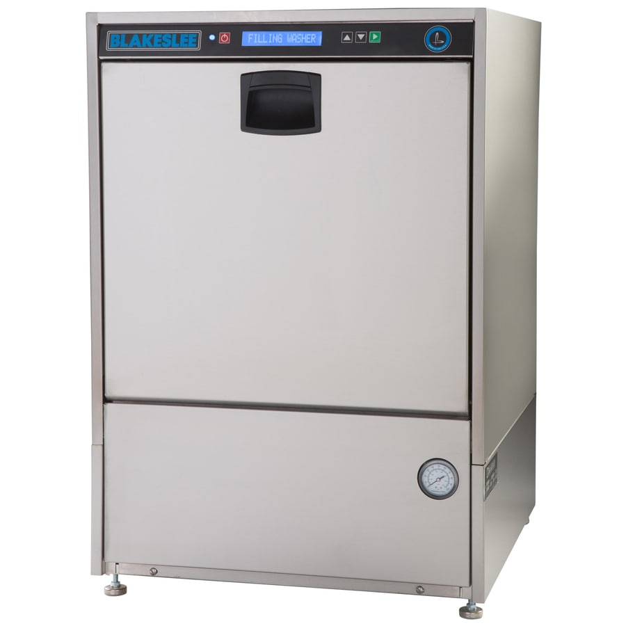 BLAKESLEE 45-Racks per Hour Stainless Steel High Temperature Undercounter Commercial Dishwasher