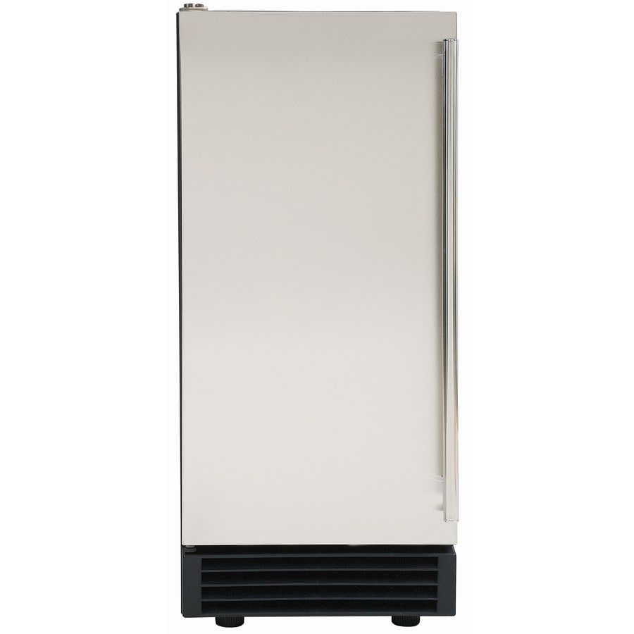 Maxx Ice 50-lb Freestanding/Built-in Commercial Ice Maker (Stainless Steel)