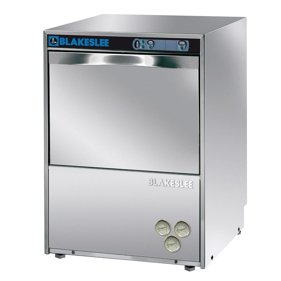 BLAKESLEE 30 Racks Per Hour Stainless High Temperature Undercounter Commercial Dishwasher
