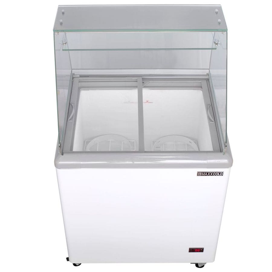 Maxx Cold 7.5-cu ft Frost-free Commercial Chest Freezer (White)