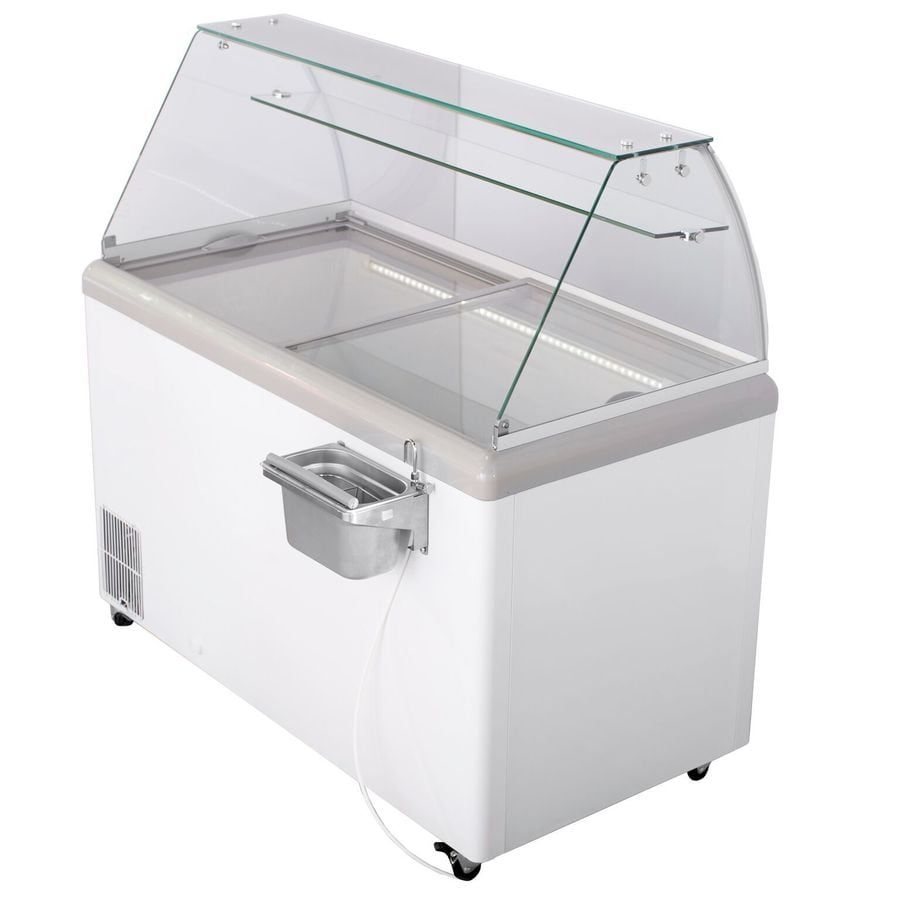 Maxx Cold 14-cu ft Commercial Chest Freezer White)