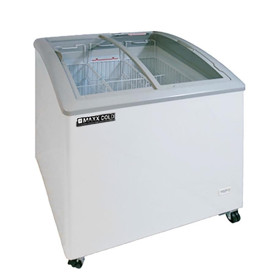maxx cold 75cu ft commercial chest freezer white