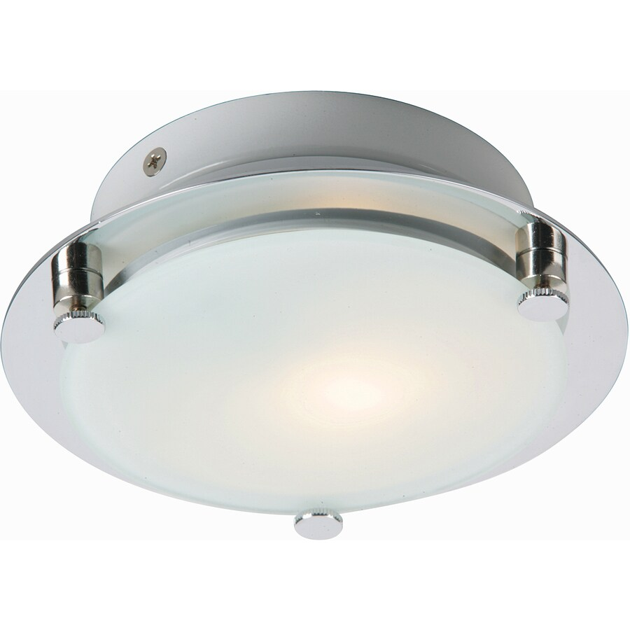 Pyramid Creations Piccolo 7-in W 1-Light Satin Nickel / Polished Chrome Arm Wall Sconce