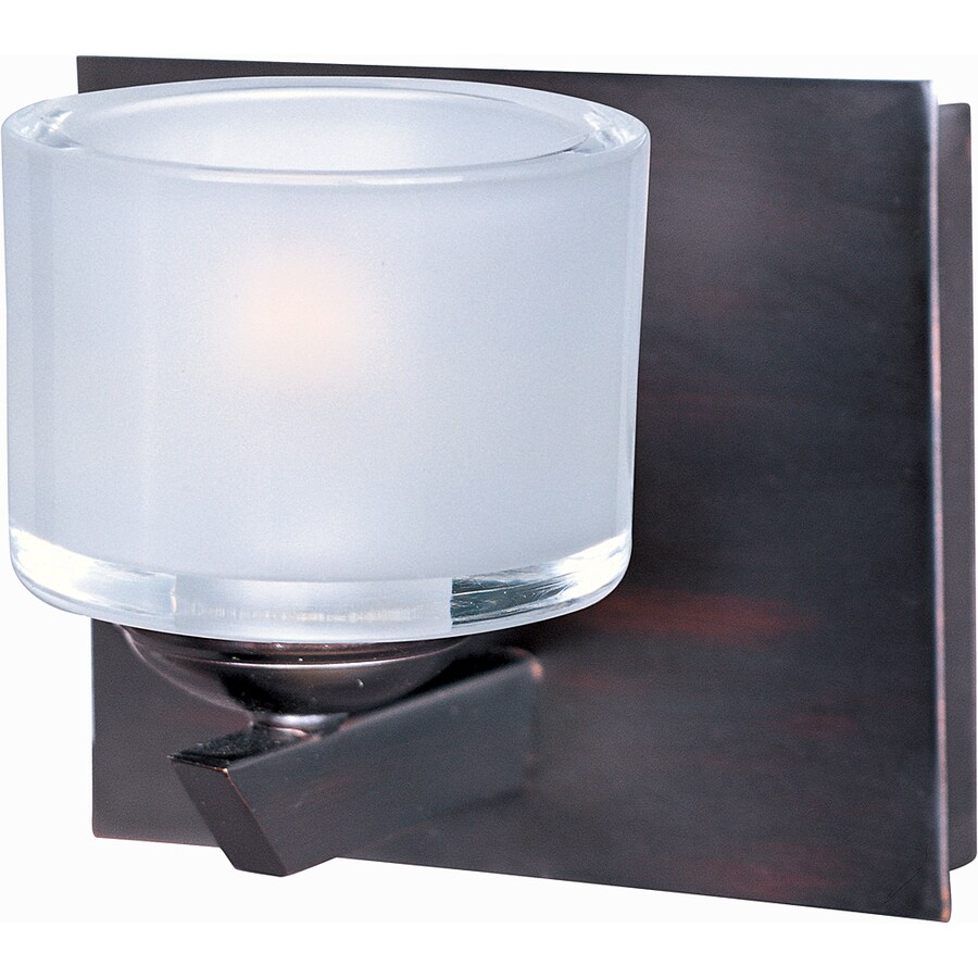 Pyramid Creations Vortex 6-in W 1-Light Oil Rubbed Bronze Arm Wall Sconce