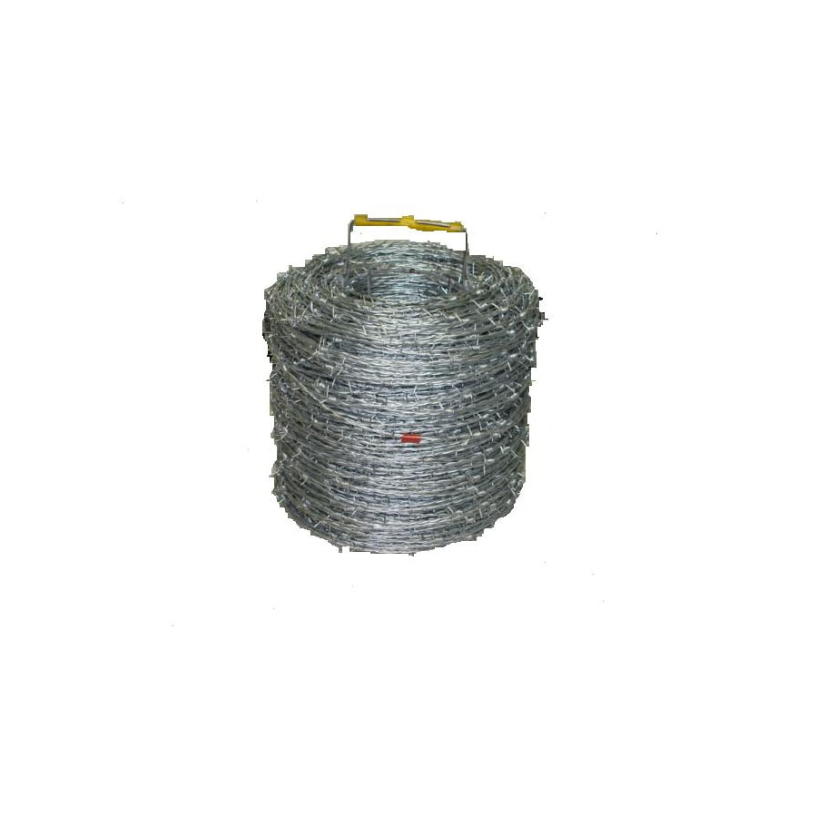 1320-ft 15.5-Gauge Galvanized Steel Barbed Wire