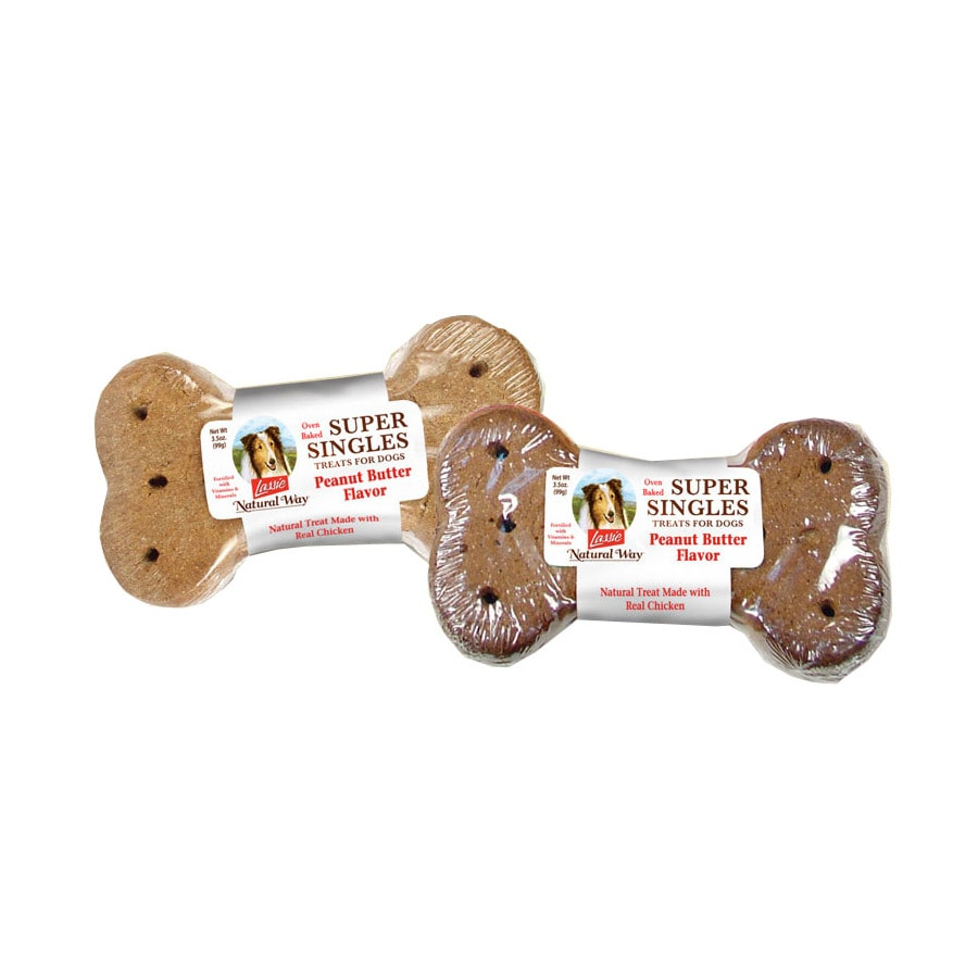 Lassie 3.5-oz All-Natural Peanut Butter-Flavor Snacks