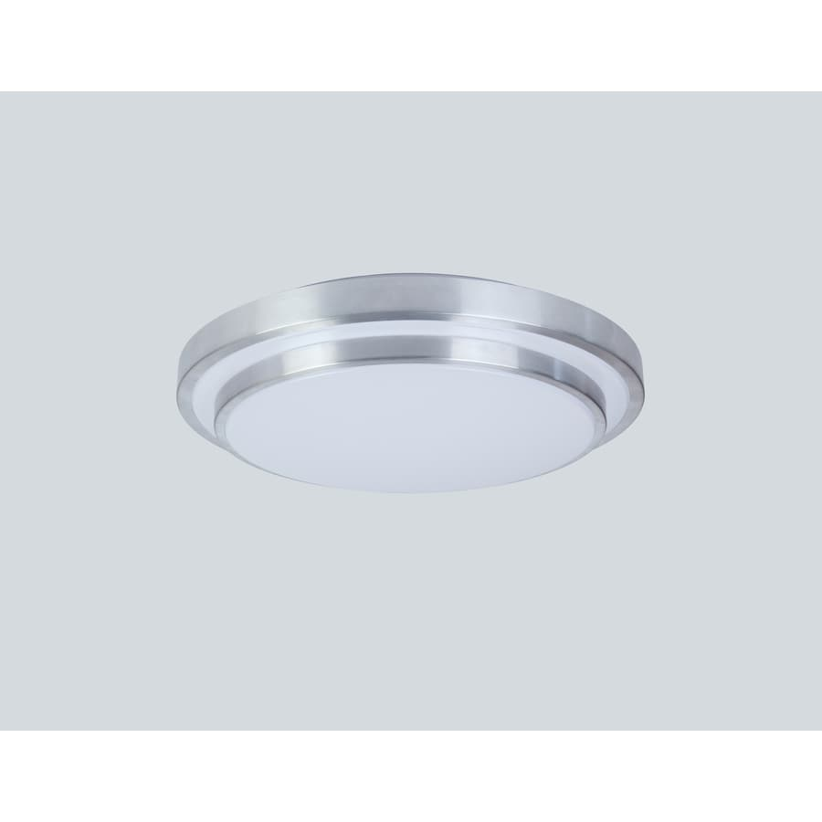 item classics ceiling zoom nickel inch design lighting light led satin flush square mount