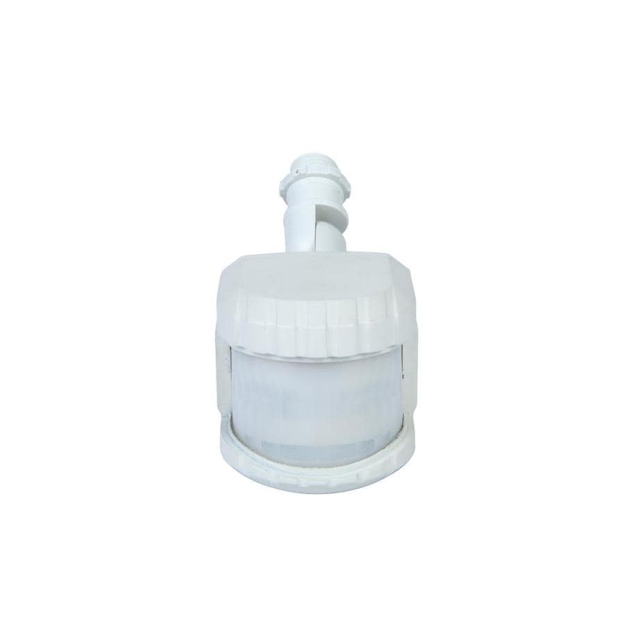 Shop Utilitech White Wire In Replacement Motion Sensor At Wiring Diagram For Dusk To Dawn Light