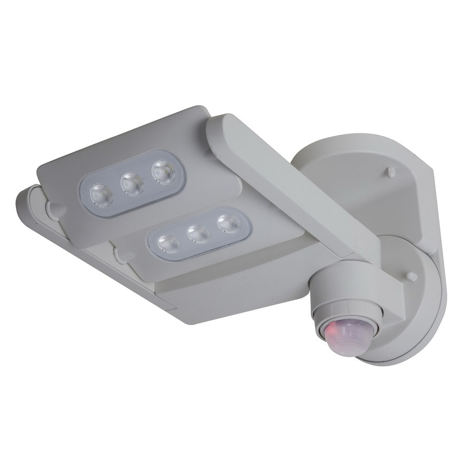 Utilitech 240-Degree 1-Head LED Motion-Activated Flood Light