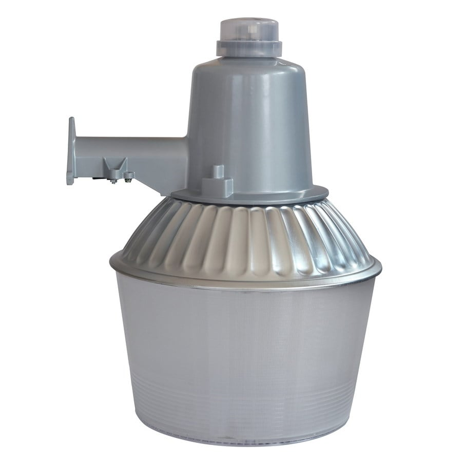 Shop dusk to dawn flood lights at lowes utilitech 1 head gray metal halide dusk to dawn flood light aloadofball Images