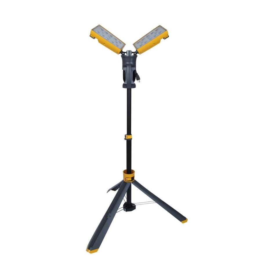 Shop Utilitech 7000-Lumen LED Stand Work Light At Lowes.com