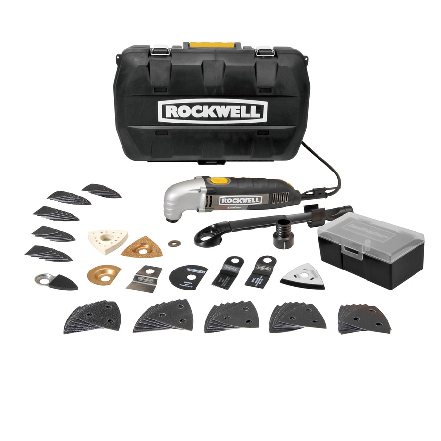 ROCKWELL 73-Piece 2.3-Amp Oscillating Tool Kit