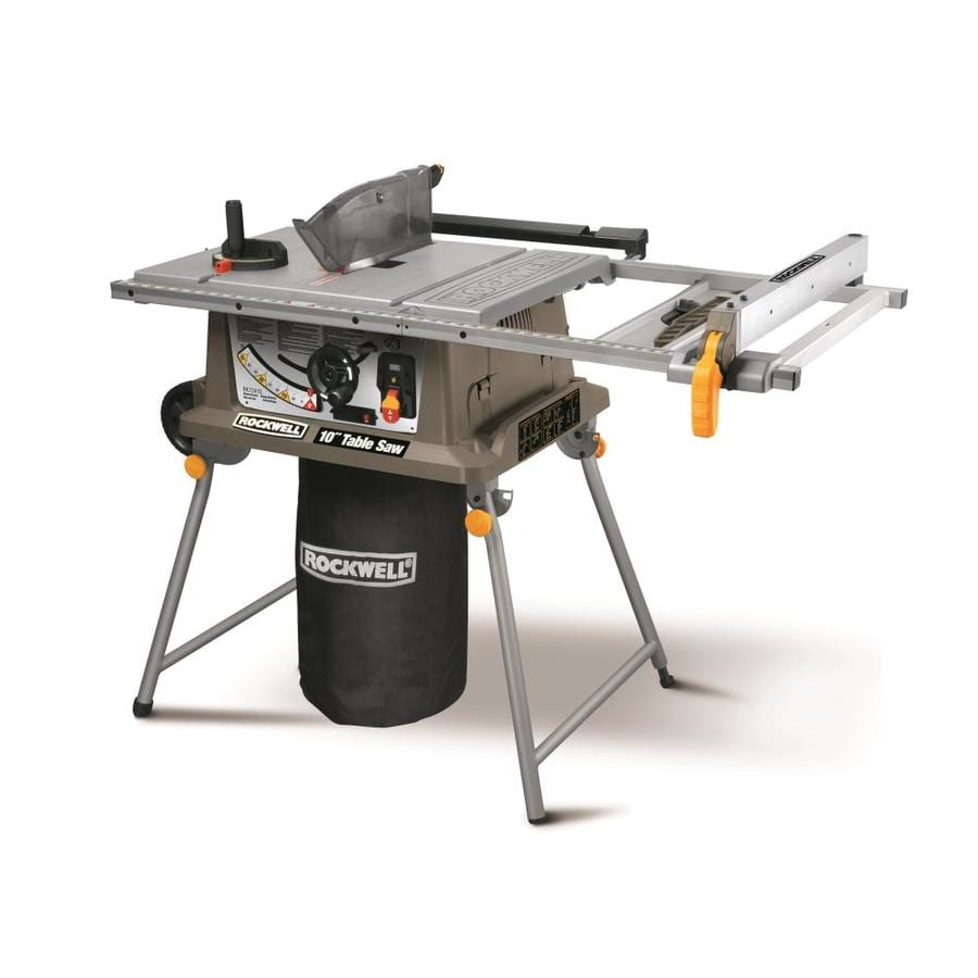 ROCKWELL 15-Amp 10-in Carbide-Tipped Table Saw