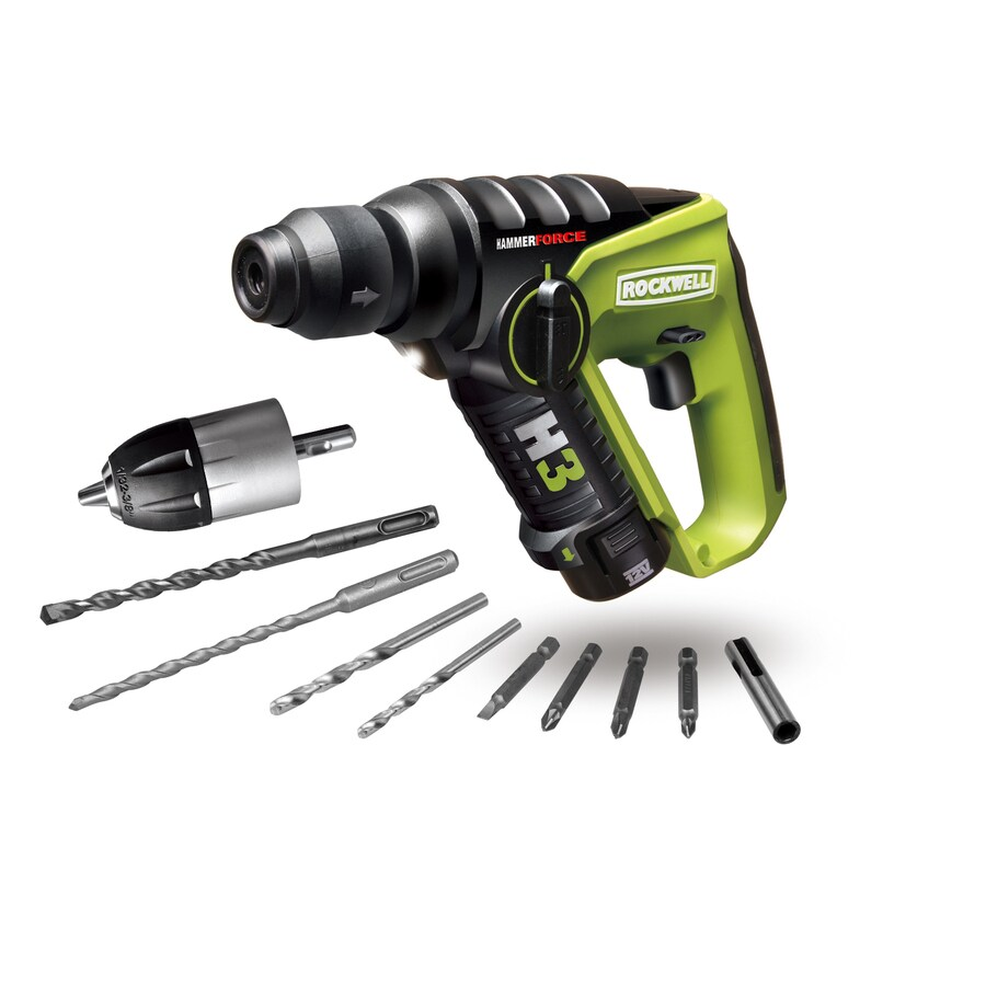 ROCKWELL 12-Volt Cordless Hammer Drill