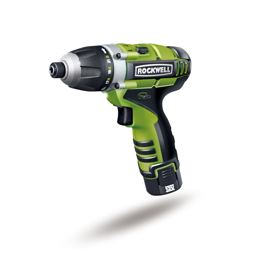 ROCKWELL 12-Volt 1/4-in Cordless Drill