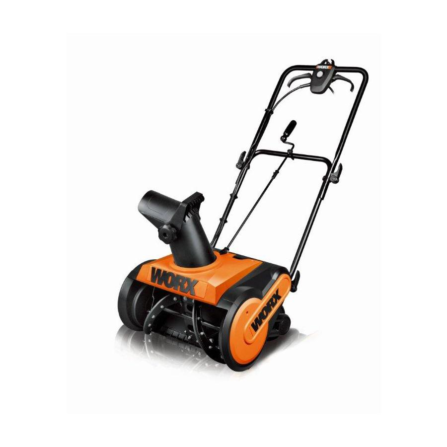 WORX 13-Amp 18-in Electric Snow Blower