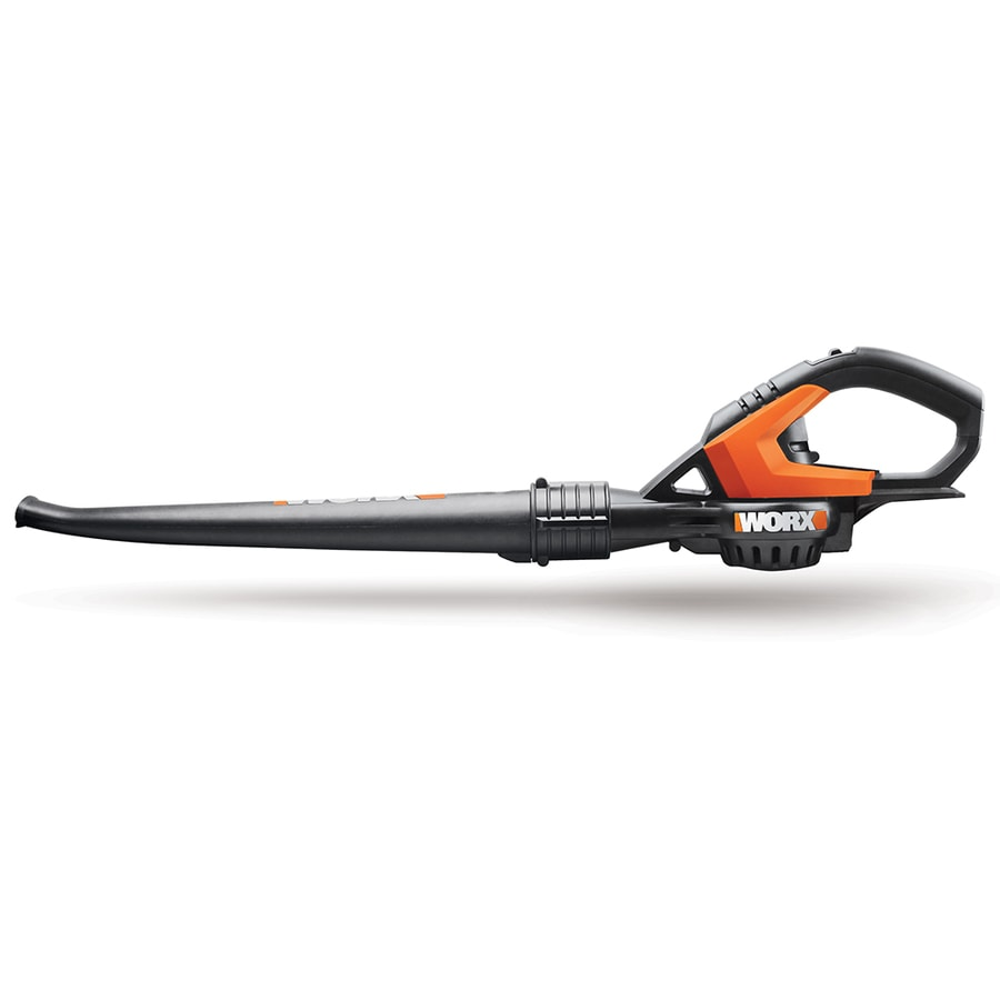 WORX 20-Volt Max Lithium Ion (Li-ion) 0-CFM 120-MPH Light-Duty Cordless Electric Leaf Blower (Battery Not Included)