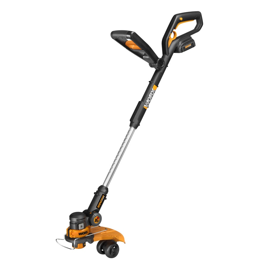 WORX 20-Volt 12-in Straight Cordless String Trimmer and Edger (Battery Included)