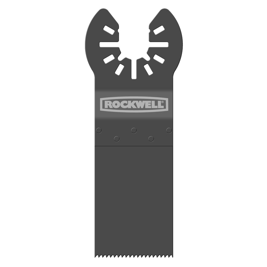 ROCKWELL Sonicrafter 1-1/8-in Bi-Metal and Wood End Cut Saw Blade