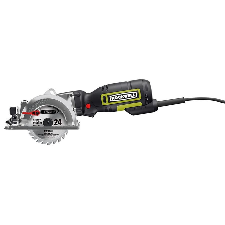 Shop rockwell 5 amp 4 12 in corded circular saw at lowes rockwell 5 amp 4 12 in corded circular saw keyboard keysfo Images