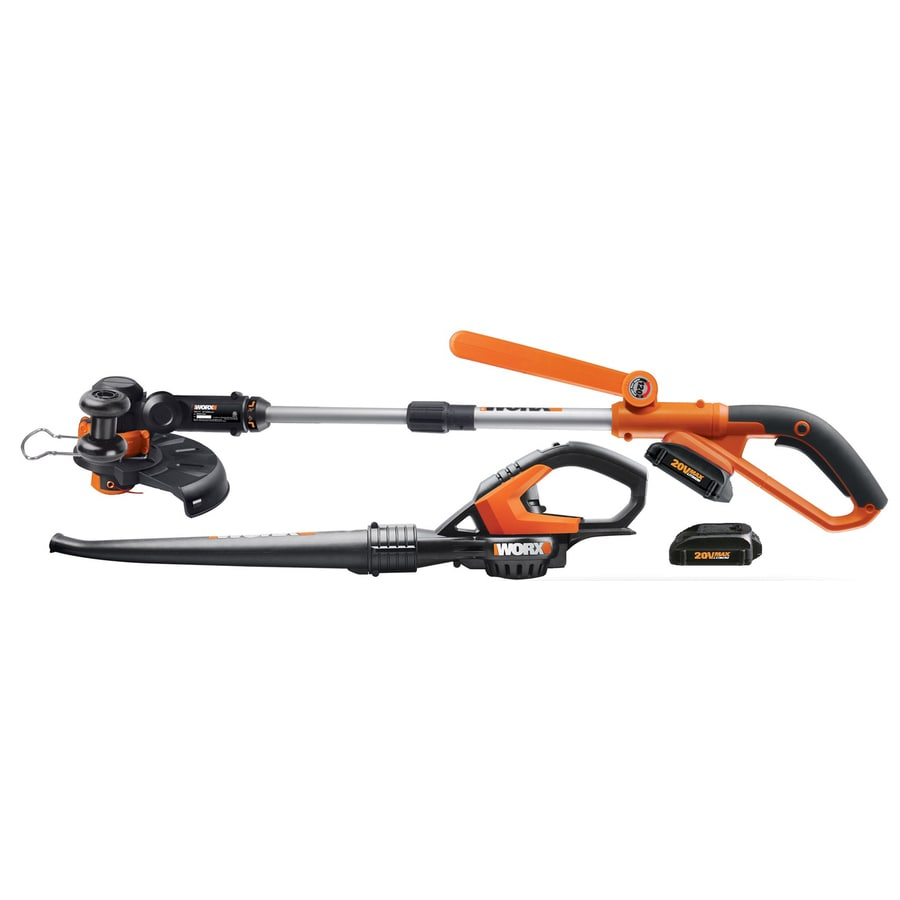 WORX 2-Piece Cordless Power Equipment Combo Kit
