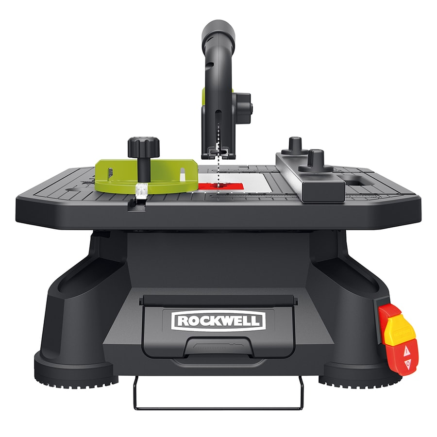 Shop Rockwell Blade Runner X2 5 5 Amp 4 In Carbon Table Saw At