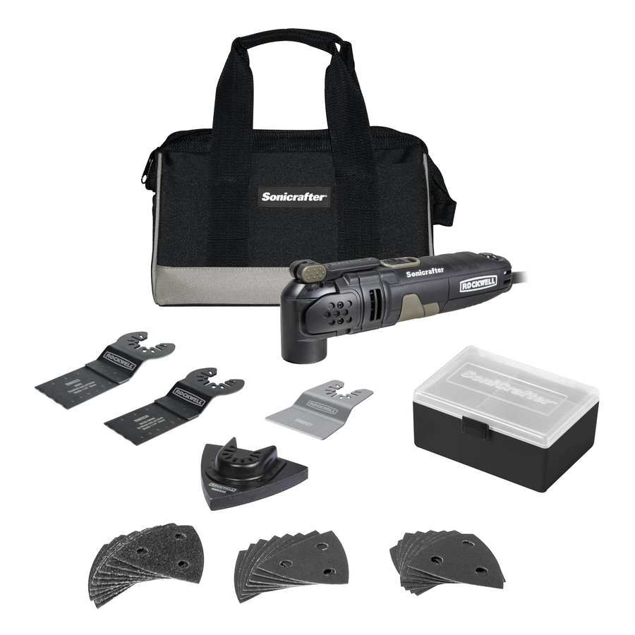 ROCKWELL SoniCrafter 31-Piece 3-Amp Oscillating Tool Kit