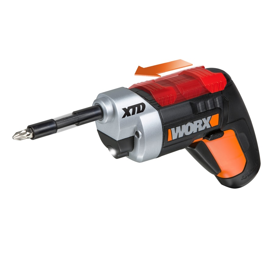 WORX 4-Volt Lithium Ion (Li-ion) 1/4-in Cordless Drill with Battery