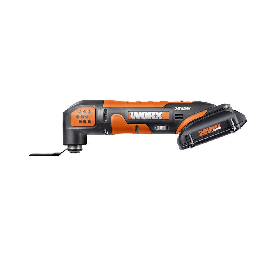 WORX 11-Piece Cordless 20-Volt Oscillating Tool Kit