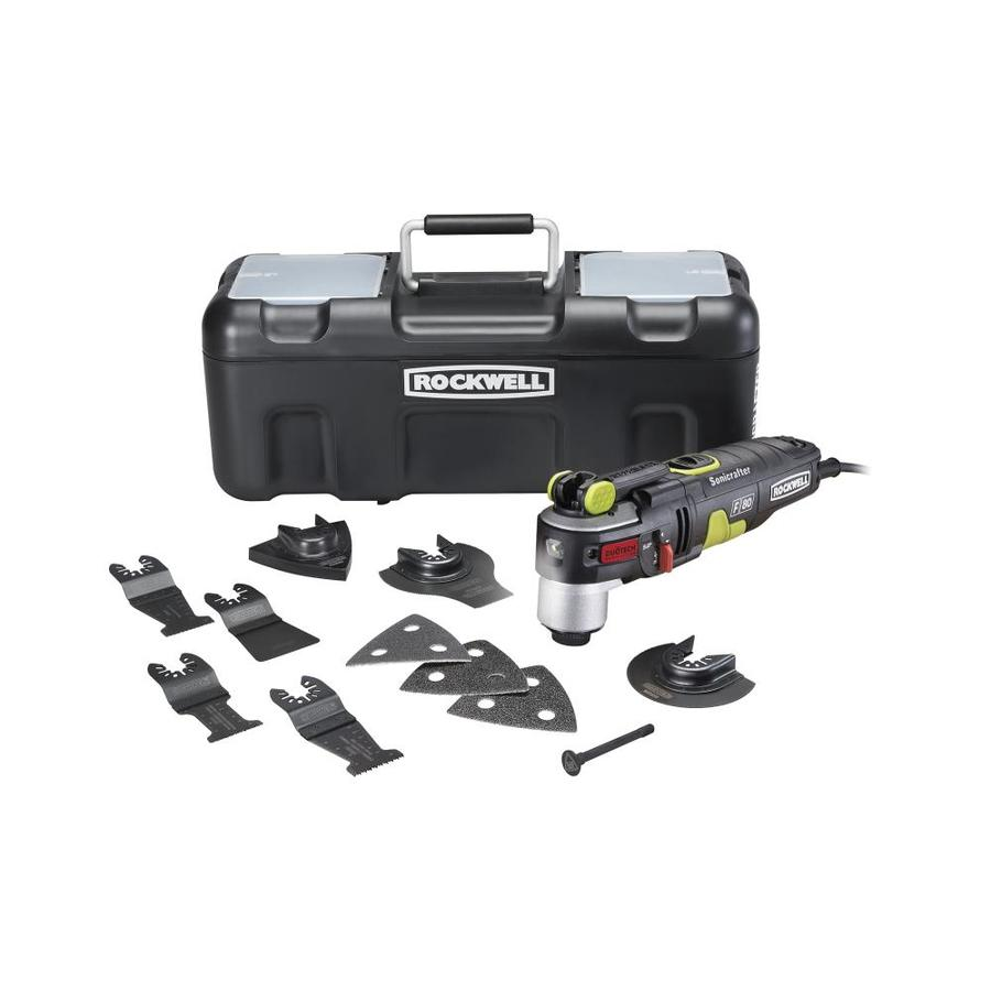 ROCKWELL Sonicrafter 12-Piece Corded 4.2-Amp Oscillating Tool Kit