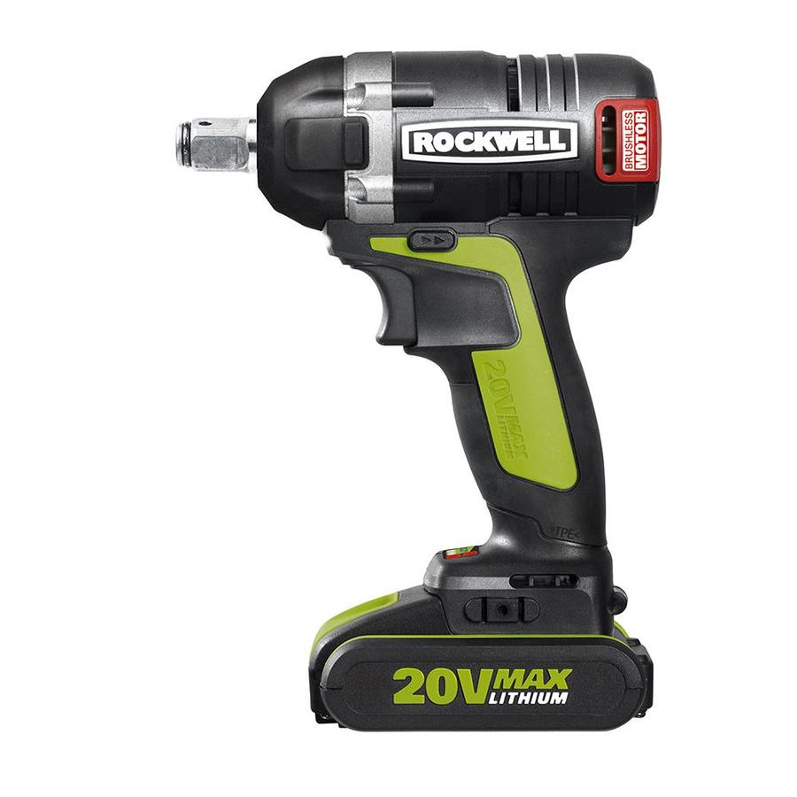 ROCKWELL 20-Volt 0.5-in Drive Cordless Impact Wrench