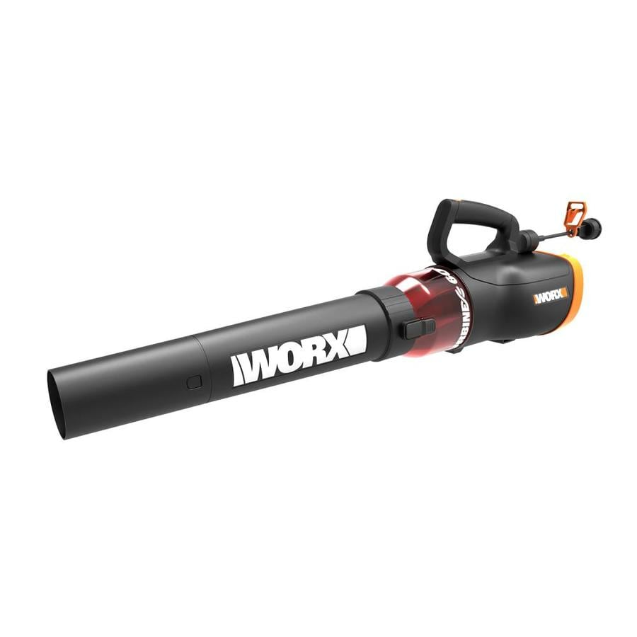 Corded Electric Leaf Blower : Shop worx amp cfm mph medium duty corded