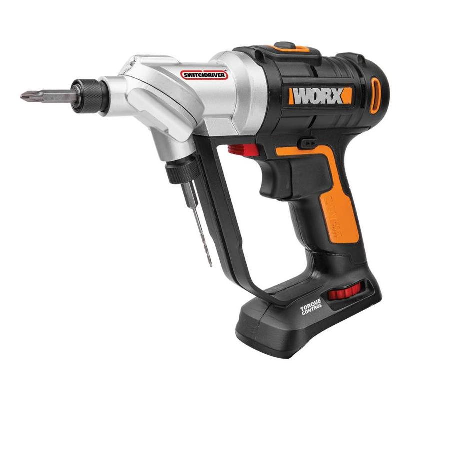 Worx Switchdriver 20 Volt Max 1 4 In Cordless Drill