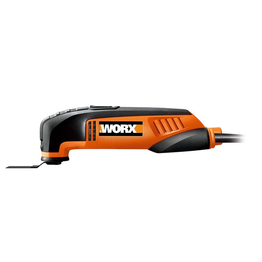 WORX 8-Piece Corded 2.5-Amp Oscillating Tool Kit