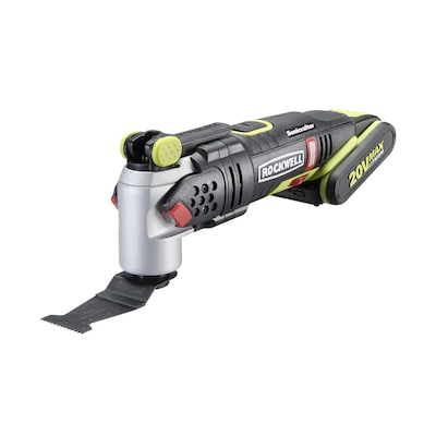 ROCKWELL SoniCrafter 12-Piece Cordless 2-Amp 20-Volt Max