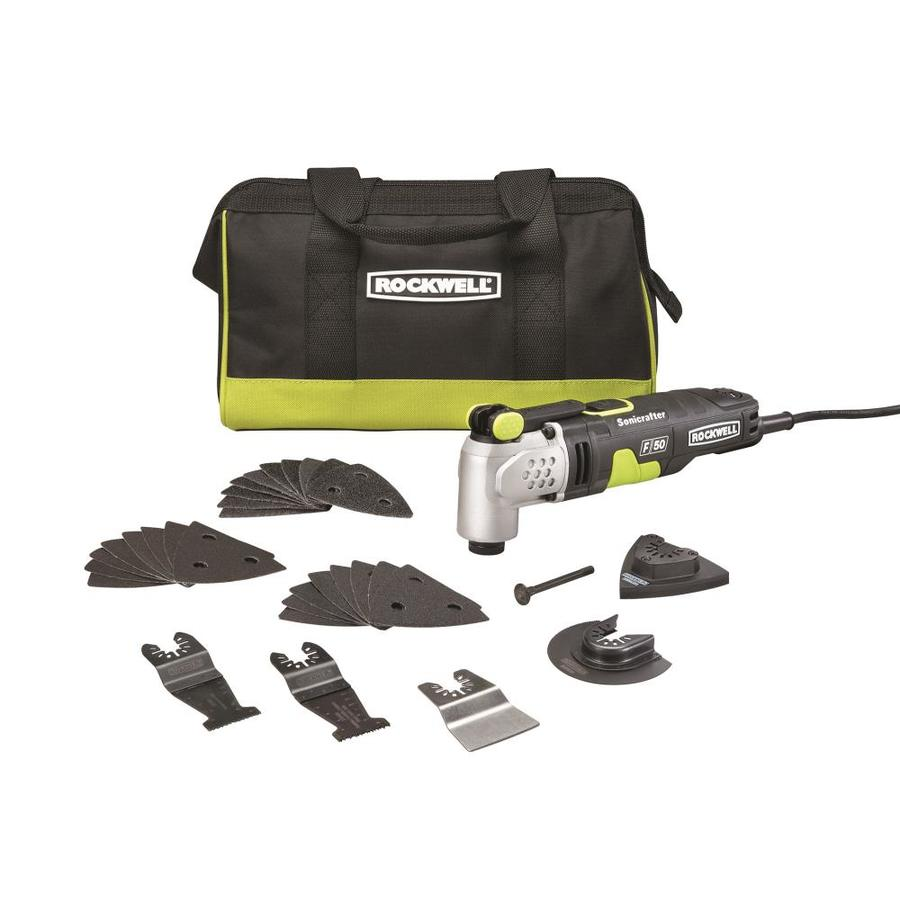 ROCKWELL Sonicrafter 33-Piece Corded 4-Amp-Volt Oscillating Tool Kit