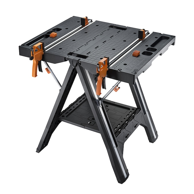 Worx Pegasus 5 In W X 32 In H Plastic Work Bench In The Work Benches Department At Lowes Com
